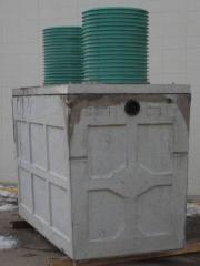 700 Gallon 2 Chambered Septic Tank