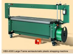 HBX-4300 Large Frame semiautomatic strapping