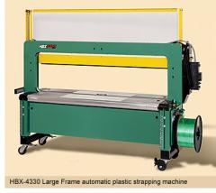 HBX-4330 Large Frame semiautomatic strapping