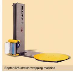Raptor 525 semiautomatic turntable stretch