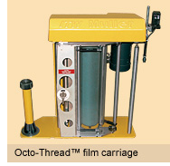 Octo-Thread film carriage