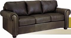Leather Sofa. Bayview.