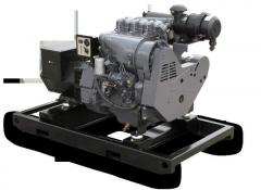 Generator sets rated from 7 kWs to 1000 kWs