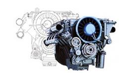 The engine for construction equipment 413FW