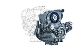 Engine for construction equipment 912W