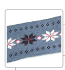 Arm Bands for knitting fabrics