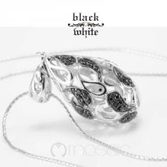 B&W :: Mosaic Designer Necklace 3.612BZ