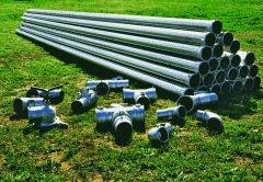 Pipe & supply line aluminum pipe