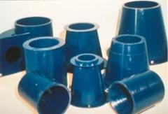 Hydrocyclone liners