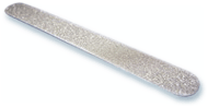 Semi-flexible diamond nail files