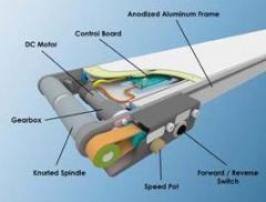 Flat belt center drive conveyor