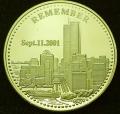 911 World trade center gold coin