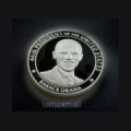 Barack Obama silver coin