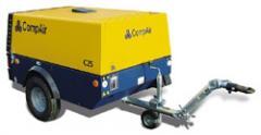 Portable compressors C14 - C30 range