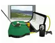 Electric spin ps2 golf simulator