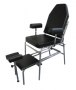 Pedicure Chair with Reclining Back