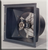 Fans Wall air inlet