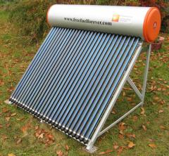 Solar Water Heater System-Glass Heat Pipes