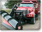 One-way plows snowtrucks