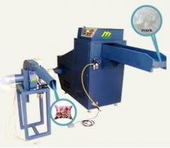 Fiber carding & cushion filling machine