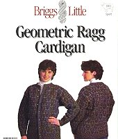 Knitting pattern #1001 geometric ragg