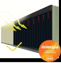 MatrixAir™ Backpass Solar Air Collector