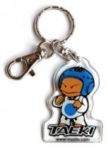 Taeki key chain blue