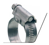 S-band worm-drive hose clip asfa 9mm l-band 12mm