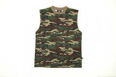 Hidden sleeveless t-shirts