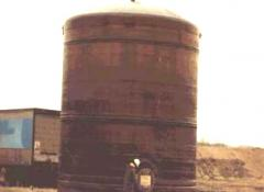 Storage tank for the Chemical Industry