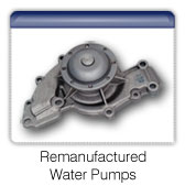 Remanufactured water pumps
