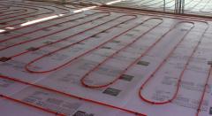 Solar Radiant Floor Heating System