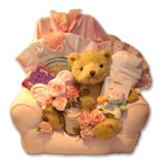 Baby Sofa Gift Basket