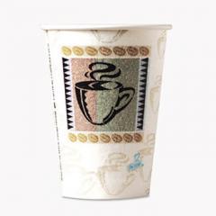 Hot Cups, Paper, 12 oz., Coffee Dreams Design, 50/Pack