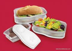 Nesting Doll Sandwich Containers