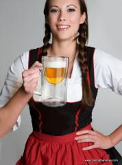 The Beer Stein Wine Glass