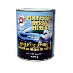 European polyester spray filler