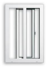 PVC Single Sash Sliding Windows