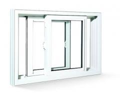 PVC Double Sash Sliding Windows