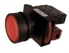 Non-Illuminated Flush Red NPB22-F11R