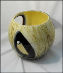 Glass Vase - Marble Collection Windows