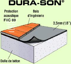 DURA-SON® pour planchers de bois franc
