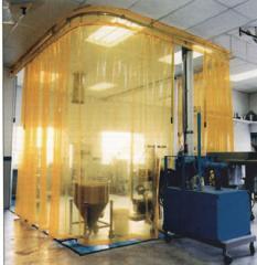 Clear Strip Acoustical Curtain