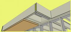 Cantilever Soffit Insulated Panels