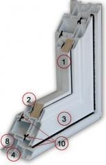 Casement  PVC windows