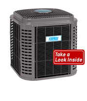 Air Conditioners Keeprite up to 18 seer with 2-stage cooling