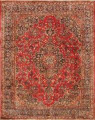 Persian Area Rugs and Carpets. Mashad rug 9'8'' x 12'1''.