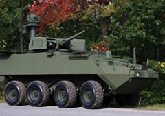 Medium Logistics Vehicle Wheeled GDLS Stryker