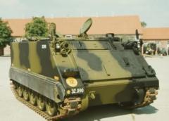 Medium Logistics Vehicle Wheeled M113