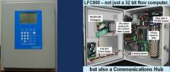Flow computer for popeline liquids? backlit display with keypad DrSCADA LFC800